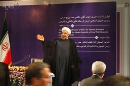اولین نشست خبری آقای روحانی