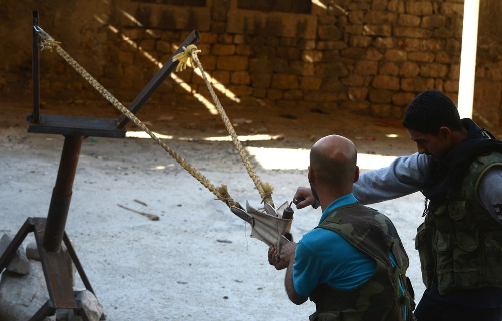 تسلیحات ابداعی شورشیان سوریه و مبارزان لیبی