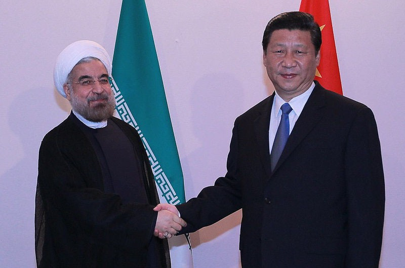 تاکید روسای جمهور ایران و چین بر جایگاه قدرتمند ایران در حل و فصل مسائل و مناقشات بین المللی