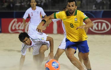 حذف آبرومندانه ساحلیبازان از جام جهانی تاهیتی/ قهرمان جهان به سختی ایران را شکست داد