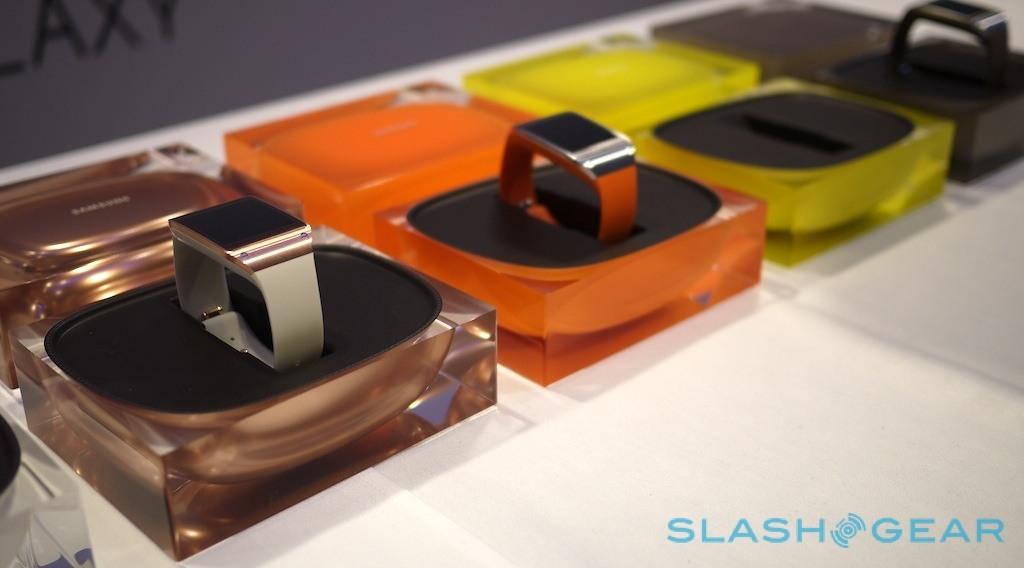 تصاویر رونمایی از ساعت هوشمند سامسونگ در نمایشگاه IFA 2013  برلین