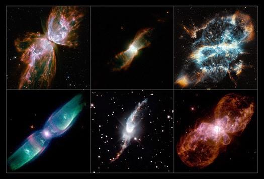 چرا پروانههای کهکشانی همه در یک جهت پرواز می کنند؟