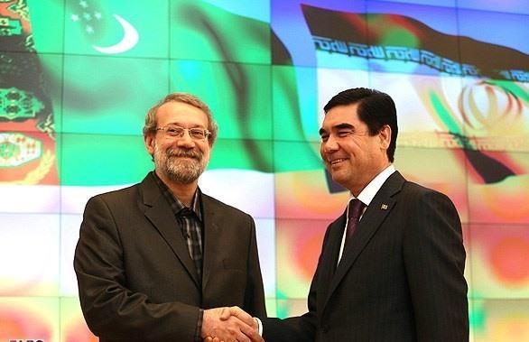 پایان سفر دو روزه رئیس مجلس به ترکمنستان/ سوریه و برنامه هستهای ایران در صدر اظهارات لاریجانی