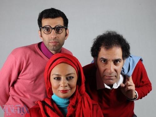 یکتا ناصر و بهنام تشکر پشت صحنه یک نمایش