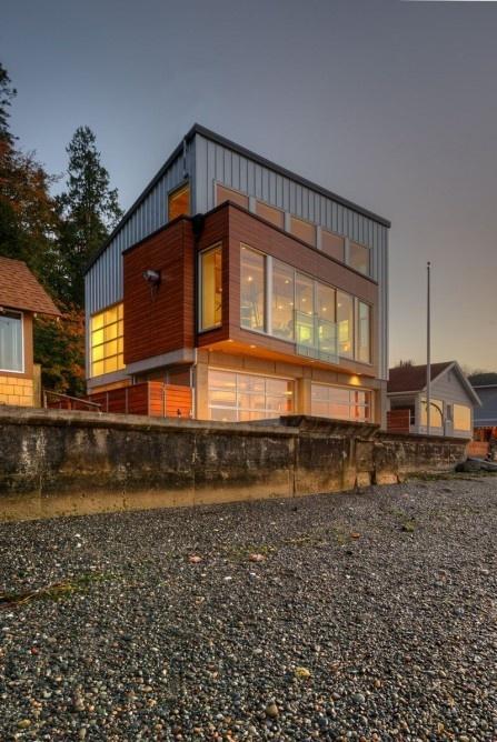 خانهای برای به چالش کشیدن سونامی