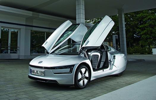 فولکس واگن XL1، کممصرفترین خودروی جهان با صدی کمتر از 1 لیتر