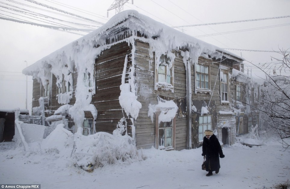 تصاویری از سردترین شهر زمین/ مدارس یاکوتسک در چه دمایی تعطیل می شود؟