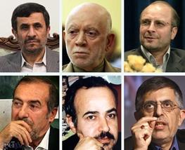شهرداری تهران, غلامحسین کرباسچی, محمد باقر قالیباف, محمود احمدینژاد