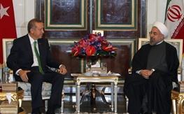 حسن روحانی,ایران و ترکیه,رجب طیب اردوغان