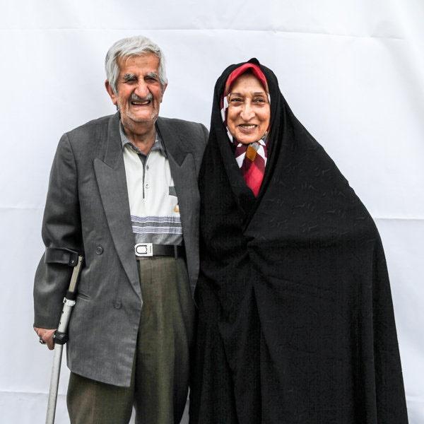 قصه عاشقی این زوجها از 50 سال گذشت