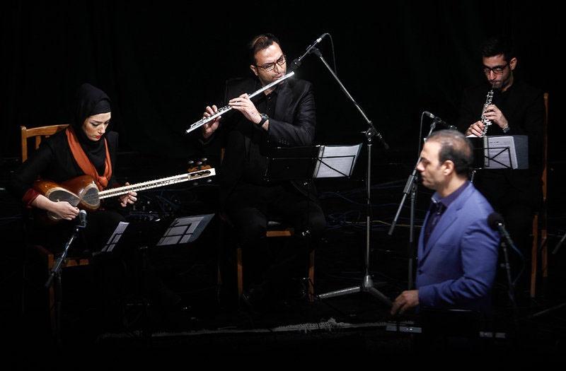 حاشیه تصویری کنسرت علیرضا قربانی در شیراز