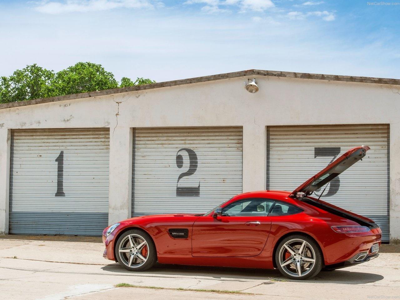 مرسدس بنز جیتی AMG، تماشاییترین خودروی موتورشوی پاریس