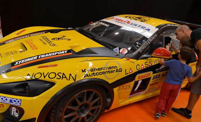 نمایشگاه خودروهای پرقدرت