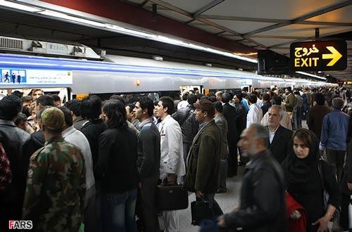 دود گرفتگی مسافران مترو را وحشت زده کرد