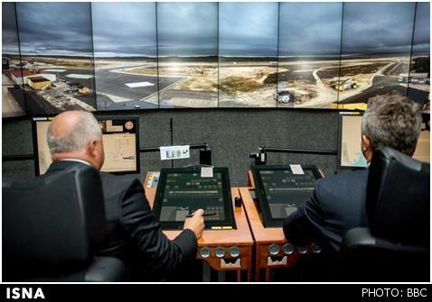 نخستین فرودگاه کنترل از راه دور