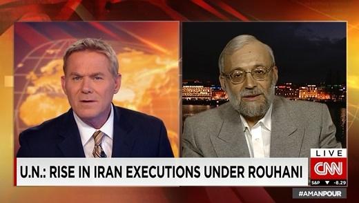 پاسخهای جواد لاریجانی به CNN درباره ریحانه جباری، دستگیری روزنامه نگار آمریکایی-ایرانی و احمد شهید