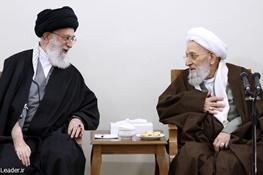 محمدرضا مهدویکنی,آیتالله خامنهای رهبر معظم انقلاب