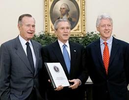 جورج بوش,هیلاری کلینتون,بیل کلینتون