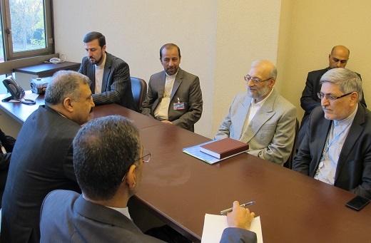 جواد لاریجانی در دیدارِ معاون وزیر حقوق بشر عراق: داعش زائیده نگاه ضد توسعه ای غرب به کشورهای منطقه