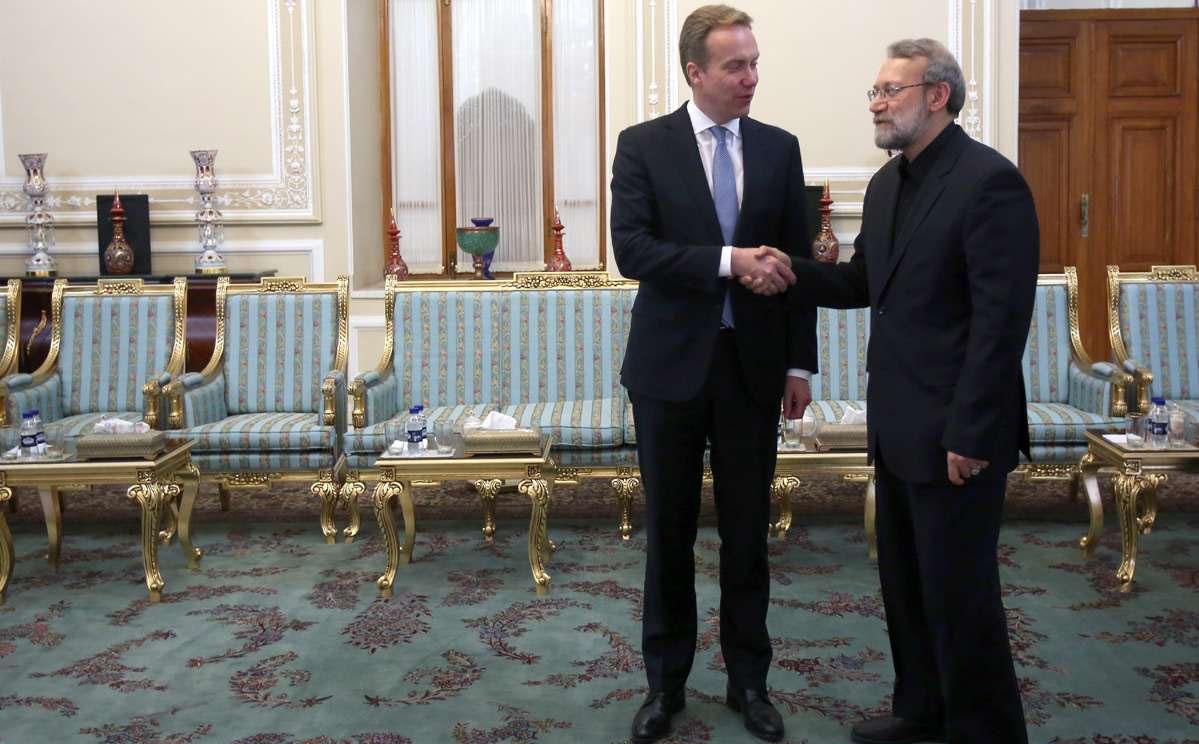 رئیس مجلس امروز با چه کسی دیدار داشت ؟