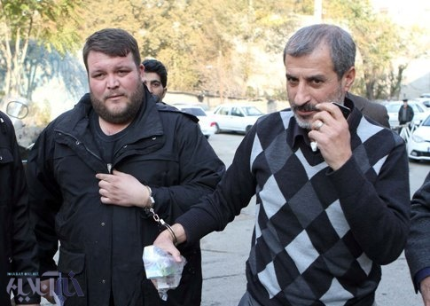 لحظه انتقال محمد مایلی کهن به زندان اوین