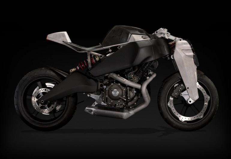 موتورسیکلتهای سفارشی 1125 بوئل–مگپول به یاد افسانه 47 رونین