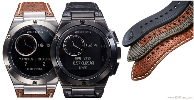 تصاویری از ساعت هوشمند اچپی که «مایکل باستین» طراح معروف ساخته است