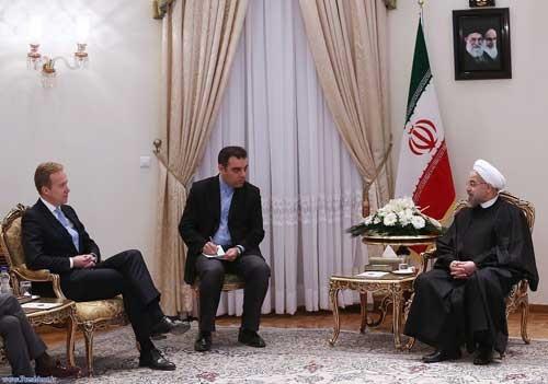 روحانی: گسترش روابط ایران و نروژ به نفع دو ملت است/ راهی جز همکاری وجود ندارد