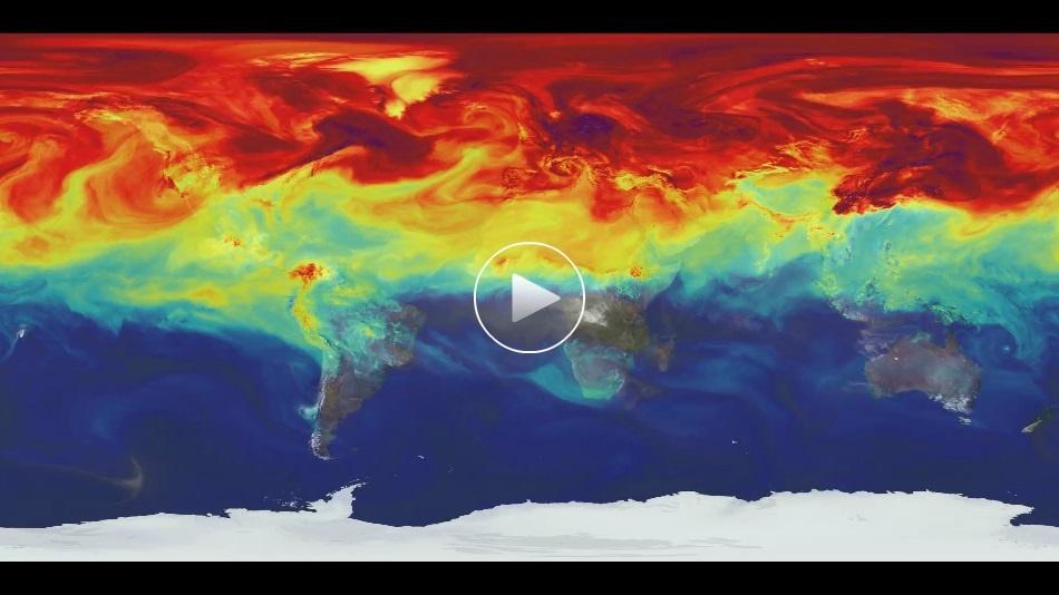 فیلم حیرتانگیز ناسا از چرخه گازهای نامرئی زمین