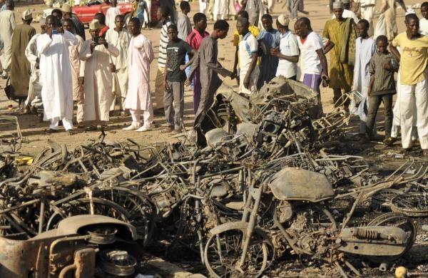 تصاویر و گزارشی از حمله وحشیانه بوکوحرام به مسجدی در نیجریه
