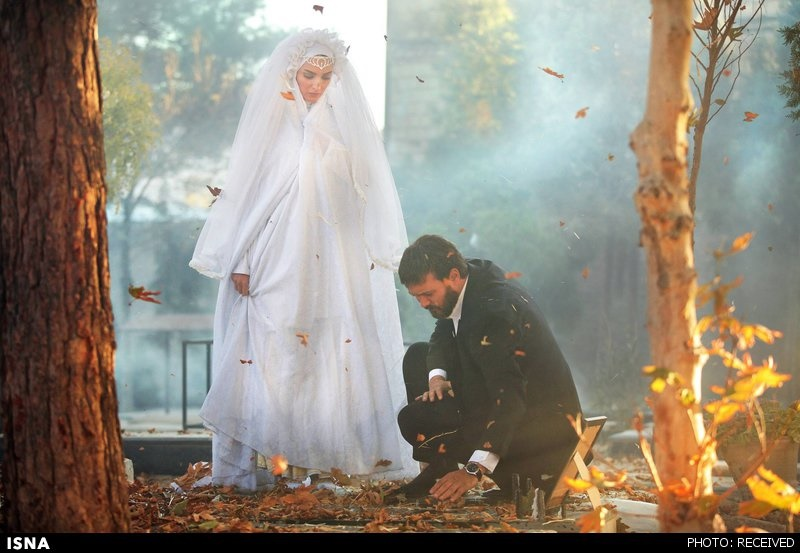 تصاویری از کامبیز دیرباز، علیرضا خمسه و بهنوش طباطبایی در تازهترین سریال سیروس مقدم