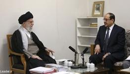 آیتالله خامنهای رهبر معظم انقلاب,نوری المالکی