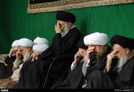 آیتالله خامنهای رهبر معظم انقلاب,عزاداری