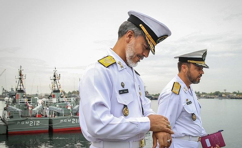 رونمایی از دستاوردهای جدید نیروی دریایی ارتش