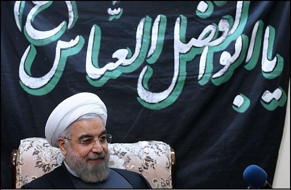 حضور رییس جمهوری در مراسم عزاداری اربعین حسینی