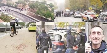 یک کشته و 12زخمی در درگیری بین هواداران اتلتیکو و دپورتیوو/رودخانه مرگ در حوالی ویسنته کالدرون