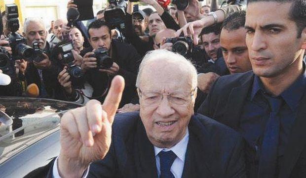 سبسی رئیس جمهور تونس شد/ مرزوقی تبریک گفت