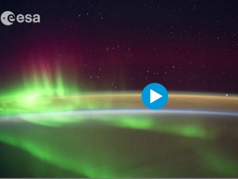 خیرهکنندهترین فیلم فضانوردان از شگفتیهای زمین