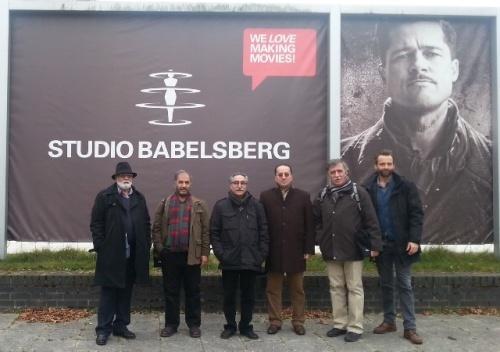 بازدید هیات اعزامی خانه سینما از استودیو فیلمسازی بالز برگ آلمان