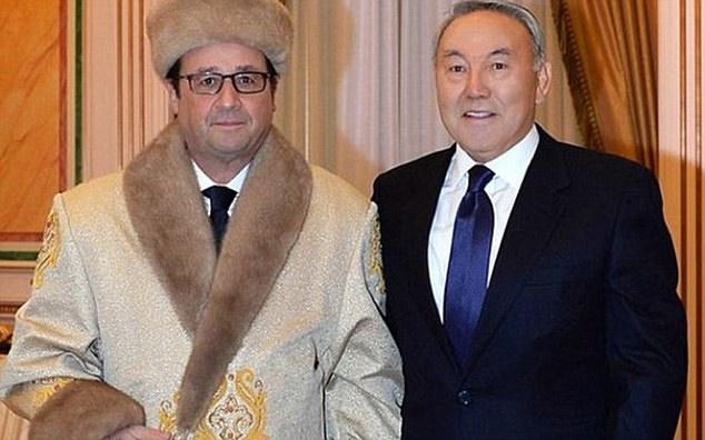فرانسوا اولاند,قزاقستان,فرانسه