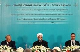 قزاقستان,حسن روحانی,ترکمنستان