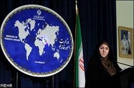 سخنگوی وزارت امور خارجه,ایران و آمریکا