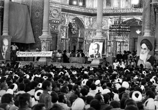عکسی از حرم حضرت معصومه در روزهای انقلاب