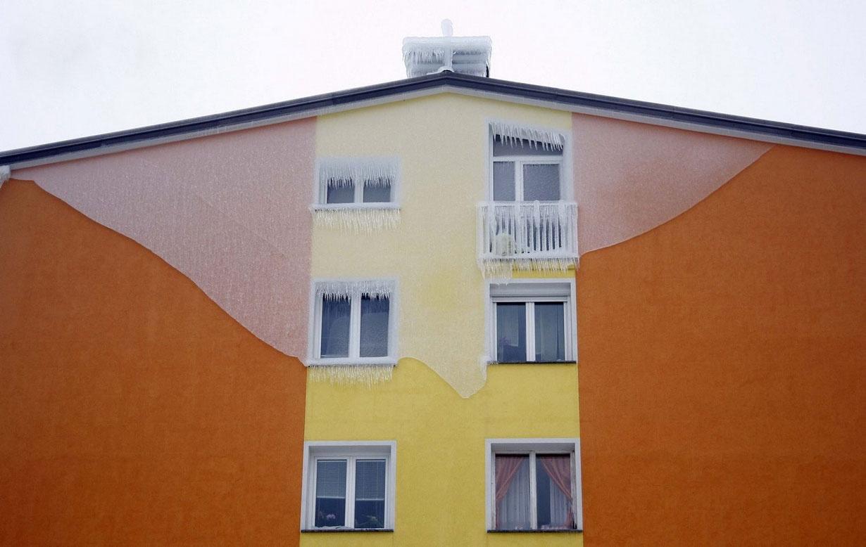 تصاویری از باران انجماد در اسلوونی