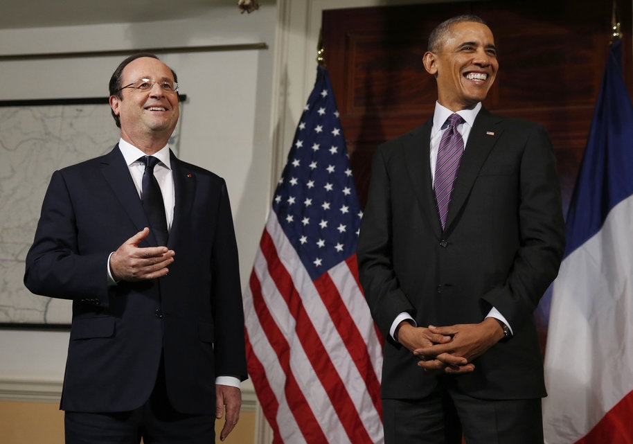 فرانسوا اولاند,باراک اوباما