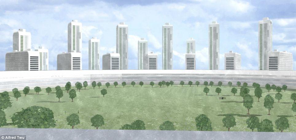 شهر گوگل، اپل و فیس بوک را ببینید