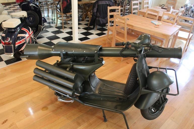 وسپا تپ 150، مرگبارترین موتورسیکلت جهان
