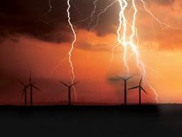 توربینهای بادی هم برق میسازند، هم رعدوبرق