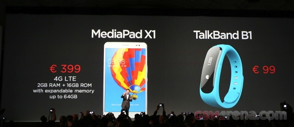 ظریفترین تبلت 7 اینچی و ساعت هوشمند تاکبند  را هوآوی در MWC2014 معرفی کرد؛ ببینید