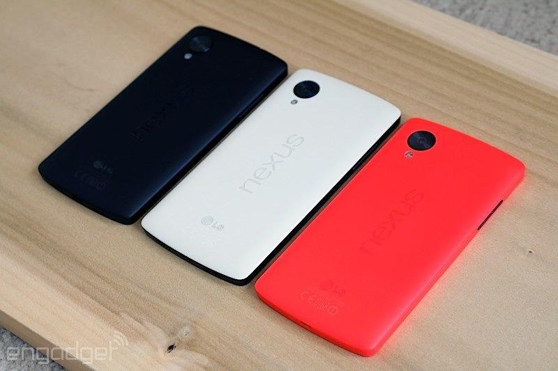 """گوشی هوشمند """"نکسوس5 گوگل"""" در رنگ قرمز دیدنی است و زیبا"""